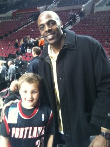 Anthony Tolliver and Kanen Rossi