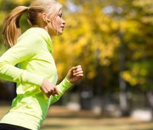 stop eating cake and start running