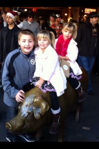 Sarah Centrella's kids