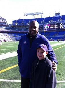 Ravens coach Todd Washington