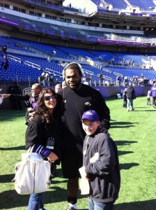 Micheal Oher Ravens
