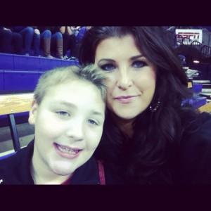 sarah centrella and son Kanen Rossi