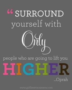 Oprah's advice