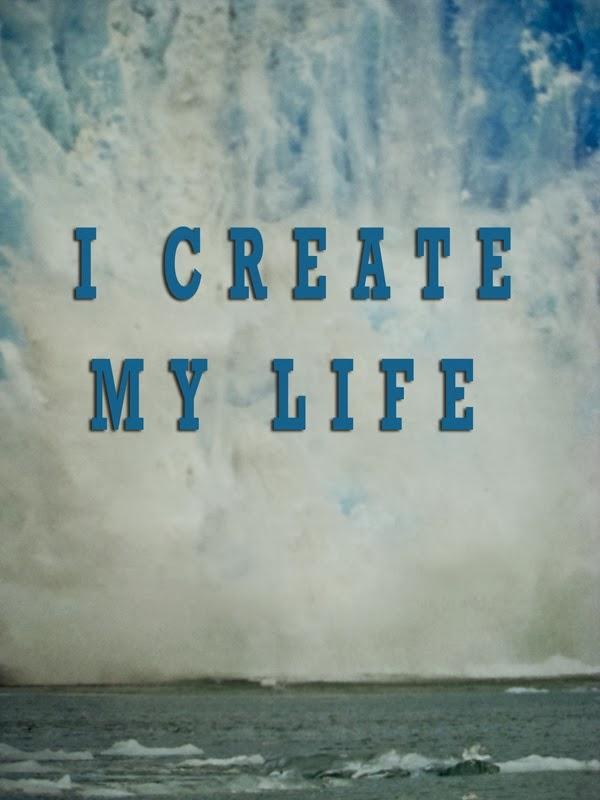 I create my life #visionboard