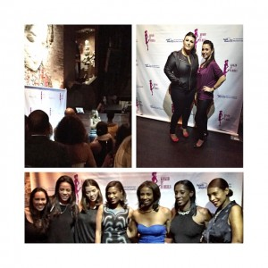 My first ever red carpet event in NYC to support Breast Cancer survivors