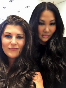 sarahcentrella with kimora lee simmons