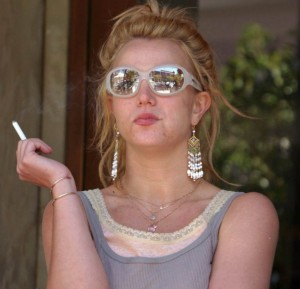 Brittany Spears single mom train wreck