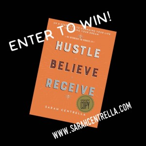 win autographed copy of HBR