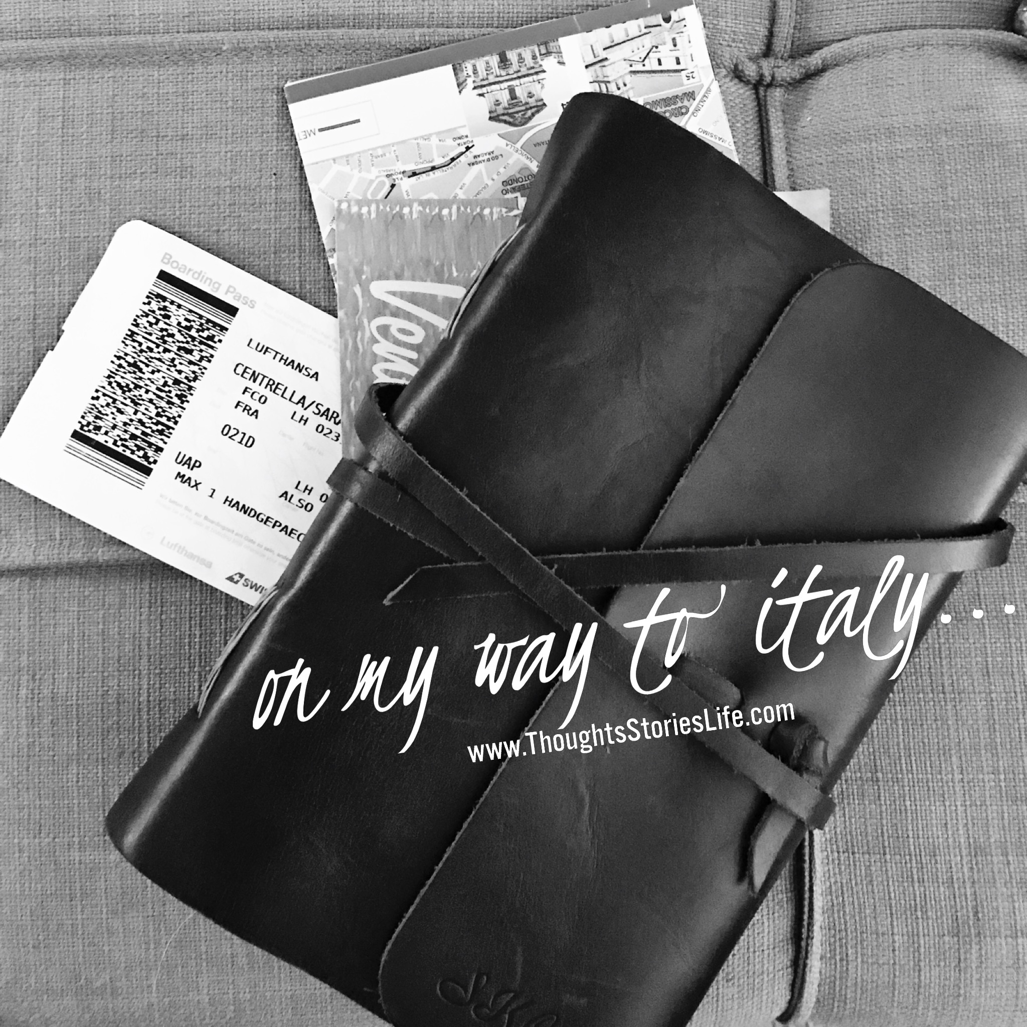 Travel Journal On My Way to Italy